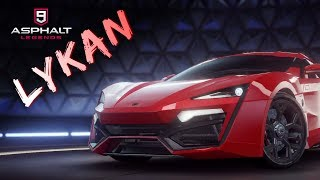 Asphalt 9 - Lykan Hypersport - Building up and Test Drive