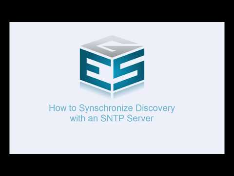 How to Synchronize with an SNTP Server