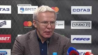 Вячеслав Фетисов: Задача «Адмирала» – войти в элиту КХЛ