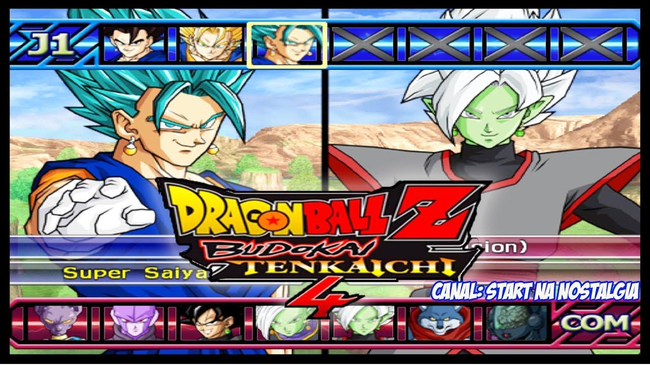 Dragon Ball Z Budokai Tenkaichi 4 Ps2 Lista Todos Personagens Fusoes Tranformacoes All Characters