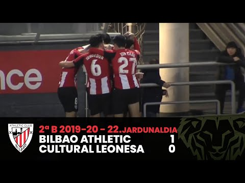 ⚽️ Resumen I J22 2ªDiv. B I Bilbao Athletic 1-0 Cultural y Deportiva Leonesa I Laburpena