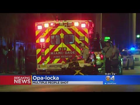 Three Hurt In Opa-locka Shooting