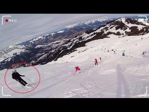 Ski rage Kitzbühel
