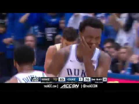 Wake Forest vs Duke College Basketball Condensed Game 2018