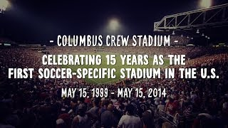 Crew Stadium 15th Anniversary