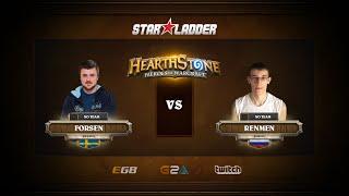 [RU] Forsen vs RENMEN | SLTV HS Kick-Off Season | Group D, Match 1