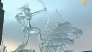Международный фестиваль ледяных скульптур на Урале
