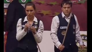 Парный Бильярд! Юрий  Пащинский,  Диана Миронова vs. Александр Паламарь, Виктория  Иванова