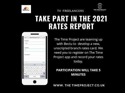 The Time Project 2021 Rates Campaign