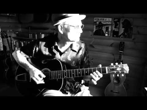 Baby Please Don't Go - Lightnin' Hopkins style on a 1925 Gibson L3