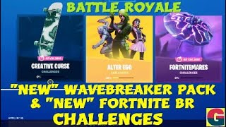 "FORTNITE ""NEW""WAVEBREAKER PACK & ""NEW"" CHALLENGES BATTLE ROYALE"