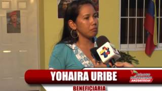 80 familias estrenaron casas dignas en cinco municipios de Anzoátegui