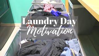 BIG LAUNDRY DAY Motivation // Laundry Buddies // Cleaning Motivation