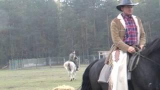 Hubertus 2015 w Dzbeninie - gonitwa za lisem