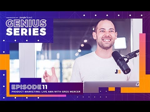LIVE with GREG Amazon PRODUCT MARKETING 🔐 I Genius Series I Jungle Scout