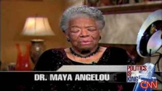 Larry King: Maya Angelou on Obama election win
