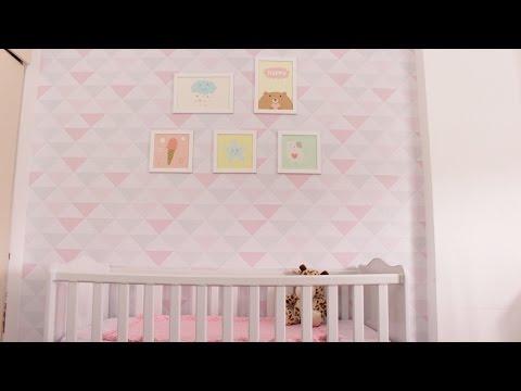 Papel de parede para quarto de beb youtube - Papel infantil para pared ...