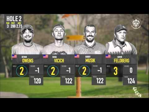 2016 DGWT Round 3   Chase Card   Musick, Vicich, Owens, Feldberg