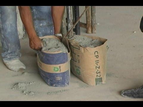 Resultado de imagem para saco de cimento aberto