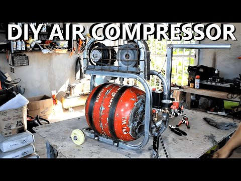 GrassCutter Engine into a Working Air Compressor