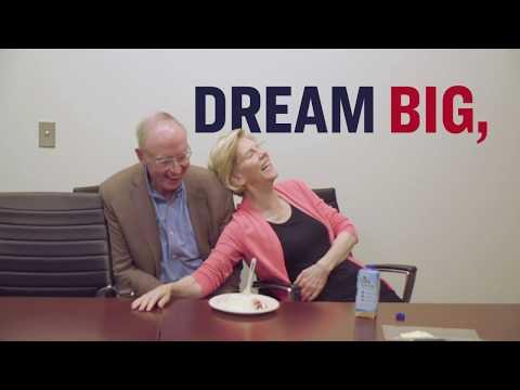 Warren 2020 Bracelet DREAM BIG FIGHT HARD