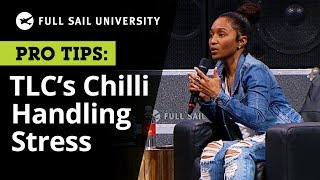 TLC's Chilli and Leslie Brathwaite - How do you handle stress in your professional life? | Full Sail