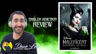 MALEFICENT: MISTRESS OF EVIL - Teaser Trailer Reaction & Review