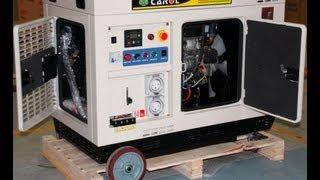 10KVA diesel generator watercooled with build ATS