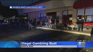 Illegal Gambling Ring Raided In Santa Ana Strip Mall