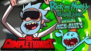 Oculus Rift: Rick and Morty Virtual Rick-ality | The Completionist