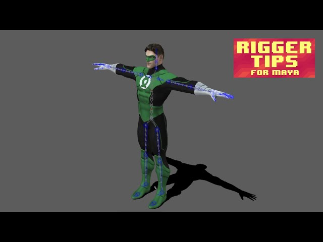 Rigger Tips for Maya #4. How to Use Auto Rig