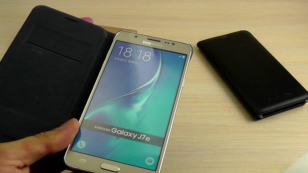 ОБЗОР: Оригинальный Чехол-Книжка Flip Wallet для Samsung Galaxy J3 .