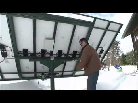 Énergie solaire - Maison autosuffisante à Tamworth, ON