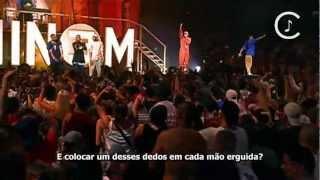 Eminem - The Real Slim Shady Legendado (LIVE)