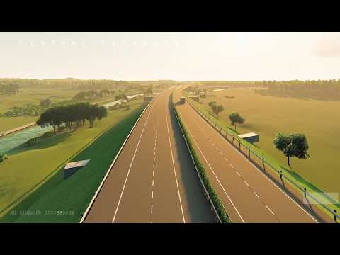 CENTRAL EXPRESSWAY PROJECT - SRILANKA (CEP) 3D