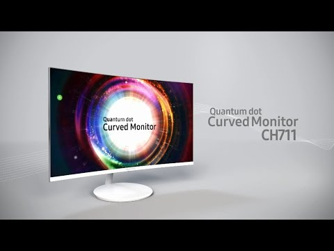 Samsung Curved Monitor – Brand New CH711 Feature Video