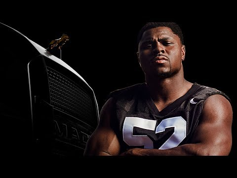 Mack Meets Mack - Khalil Mack gets a first look at the new Mack highway truck