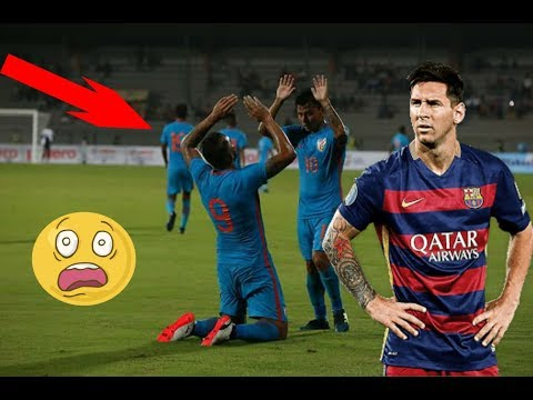 India Football Team plays like Barcelona