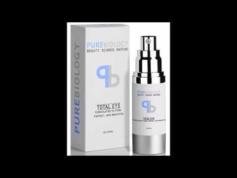 """Pure Biology """"Total Eye"""" Anti Aging Eye Cream Infused with Instant Lift Technology & Baobab Fruit Ex"""
