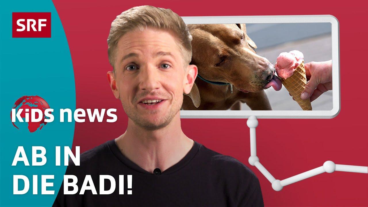 TikTok-Challenge, Glace-Herstellung und Chlor im Wasser⛱️   Kinder-News   SRF Kids – Kindervideos