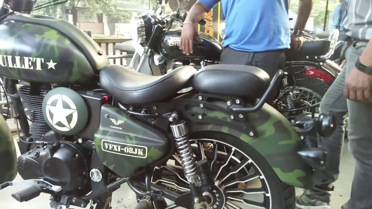 Must Watch Royal Enfield Ll Best Modification 2016 Youtube