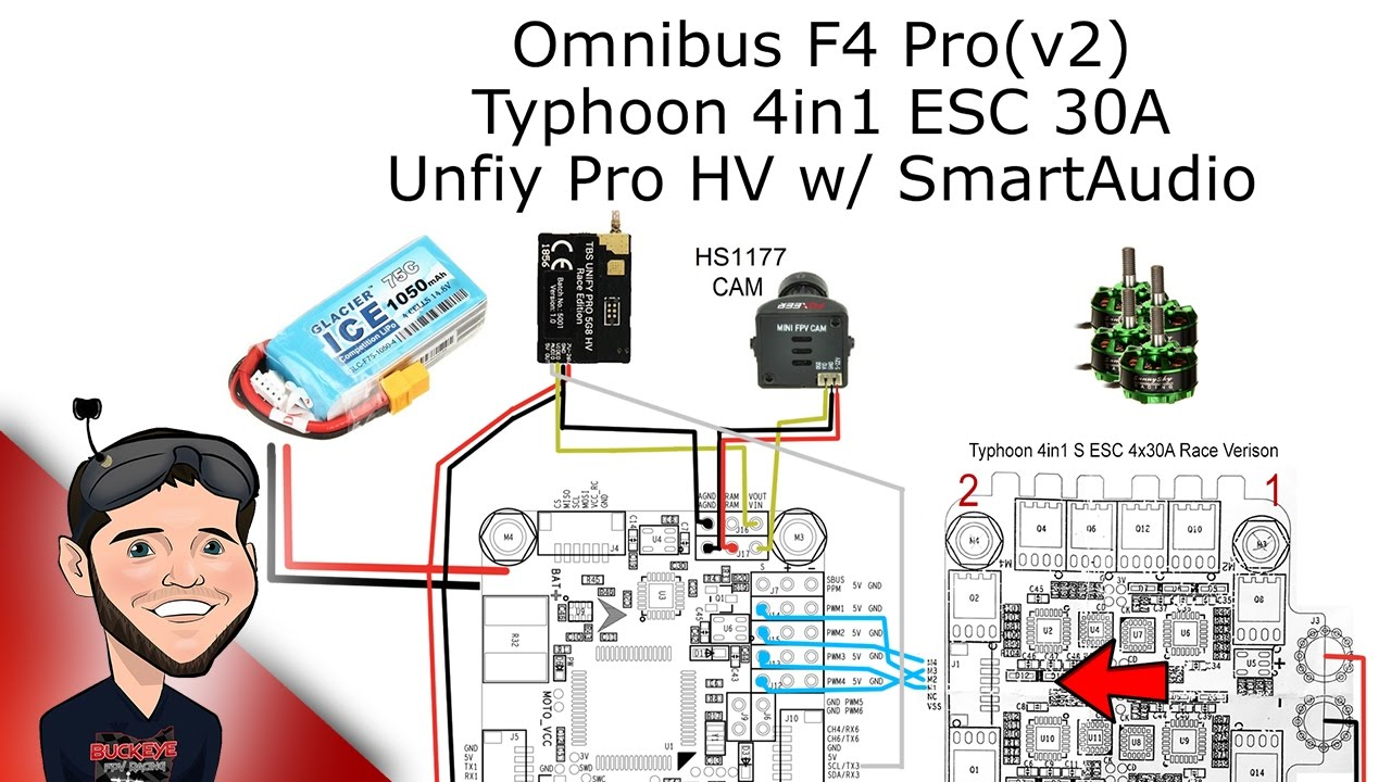 maxresdefault omnibus f4 smart audio with unify pro vtx youtube Simple Electrical Wiring Diagrams at readyjetset.co