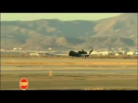 RQ-4 Block 20 Global Hawk First Flight Video