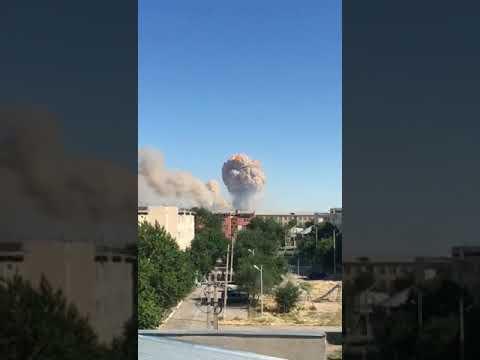 Взрыв произошел в воинской части в Туркестанской области