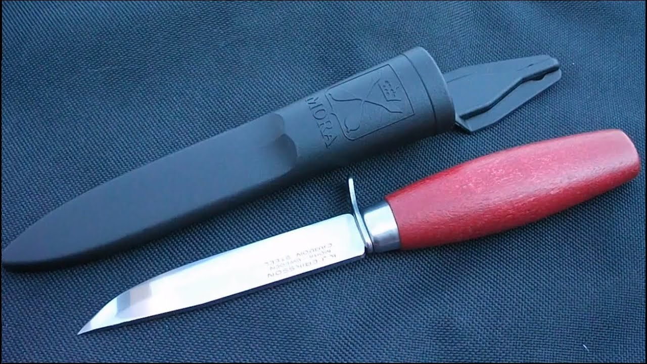 Classic Mora #2 Knife with guard (HD) - review by Nosfctech - YouTube