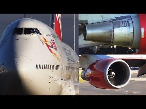 x2 Virgin Atlantic   G-VGAL & G-VLIP   B747-443 at Manchester Airport   RWY05L