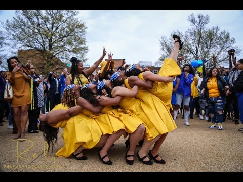 Sigma Gamma Rho Sorority, Inc - Alpha Phi Chapter Neophyte Presentation Spring 2016