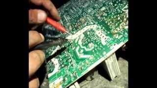 Reparacion TV LG 21fs7rl-ls - No enciende - Fuente