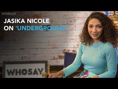 Jasika Nicole Disses on Her Empowering 'Underground' Character Georgia  WHOSAY