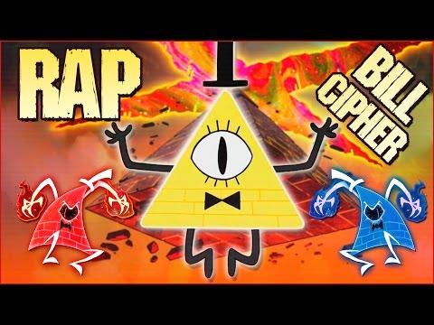 BILL CIPHER RAP (Yo soy la locura) - Gravity Falls | Zoiket